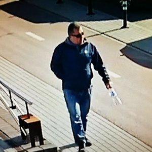 Balandžio pradžioje dingusio vyro byloje – naujos aplinkybės: užfiksuotas vaizdo kameromis