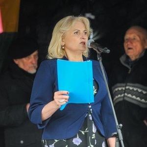 Astra Genovaitė Astrauskaitė planuoja dar vieną protestą: tikisi sukviesti 500 žmonių