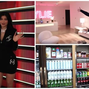 Besiskirianti milijardierė Jenner parodė savo ofisą: velniška prabanga įaudrino internautus