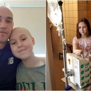 Gripo simptomai išdavė klastingą Emilijos ligą: kaunietės mama prašo pagalbos
