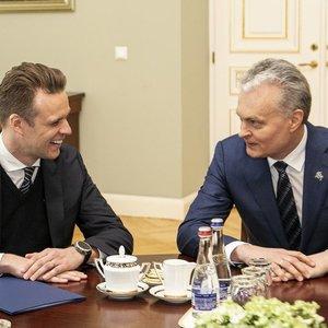 Prezidentas susitiko su Landsbergiu, konservatorius prabilo apie sąrašo lyderį