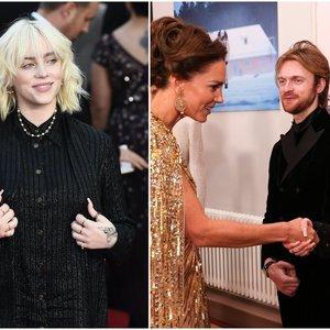 Billie Eilish  – apie susitikimą su karališkąja šeima: atskleidė, koks yra princas Williamas su Kate Middleton