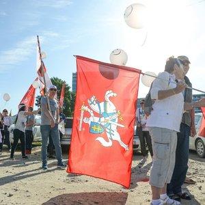 Policija baus mitinguojančius prie Seimo: pradėjo dar dvi administracines teisenas