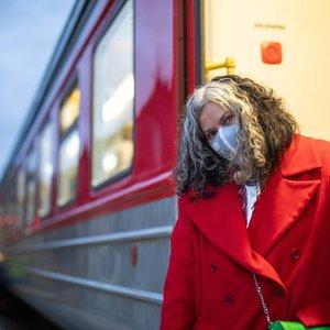 """""""Mados infekcijos"""" svečius stebino Alen Chicco pasirodymas traukinyje: abejingų neliko"""