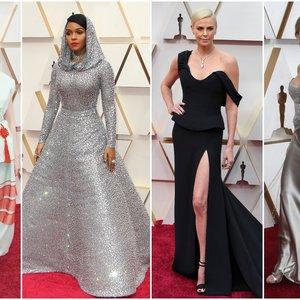 """""""Oskarų"""" raudonas kilimas verčia aiktelėti: garsenybės nustebino netikėtais pasirinkimais"""