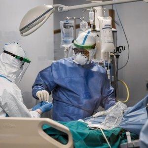 Epidemiologė: Lietuvoje yra keli sunkūs koronavirusu sergantys pacientai