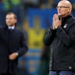 Futbolo rinktinės treneris Urbonas gyrė žaidėjus: nuvilia tik rezultatas