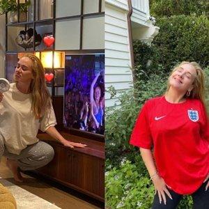 Skaudžias skyrybas išgyvenusi ir 45 kg atsikračiusi Adele pasirodė be makiažo: vis dar stebina išvaizdos pokyčiai