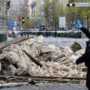 Kroatiją supurtė stiprus žemės drebėjimas, sukėlė visuotinę paniką