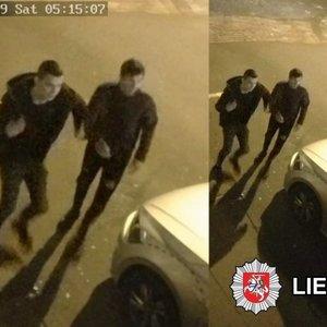 Policija prašo padėti atpažinti smurtautojus: 10 jaunuolių mušė vieną vyrą