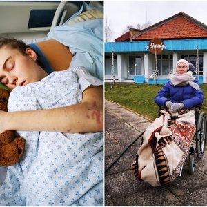 Perėjoje partrenktą 20-metę Aušrinę nubloškė 32 metrus: iki šiol kenčia negyjančias žaizdas