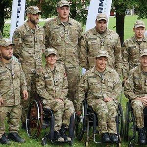 """Neįgalieji išbandė jėgas kariuomenėje: """"Mes galime labai daug"""""""