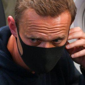 """Navalną sulaikė pareigūnai: """"Aš visiškai nebijau"""""""