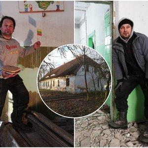 Šiauliečio sumanymas pribloškė ir visko mačiusius: nusipirko seną kaimo mokyklą