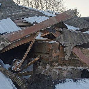 Kretingos rajone sugriuvo namas, vienas žmogus žuvo