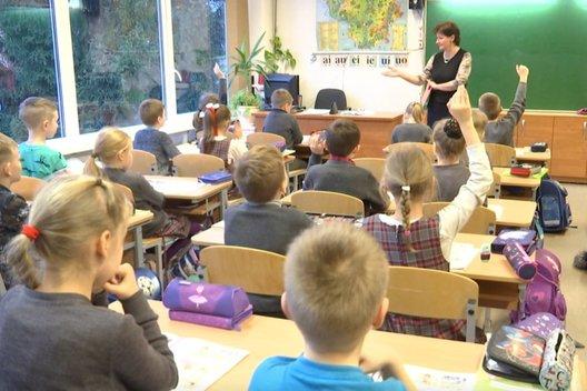 Vaikai mokykloje