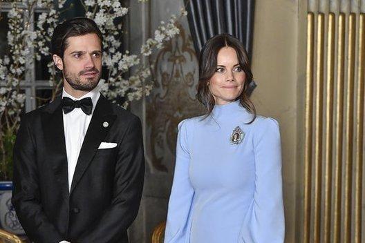 Carlas Philipas su žmona Sofia (nuotr. SCANPIX)