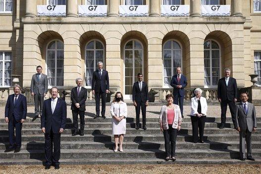 Didžiojo septyneto šalys pasirašė susitarimą dėl pelno mokesčio minimalaus tarifo nuotr. SCANPIX)