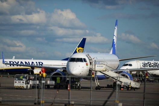 """""""Ryanair"""" lėktuvas (nuotr. Fotodiena.lt)"""