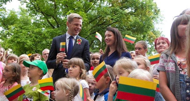 """NUOTRAUKOS: Lietuva giedojo """"Tautišką giesmę"""""""