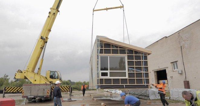 Paaiškino, kaip greitai pasistatyti nuosavą namą be statybos leidimo