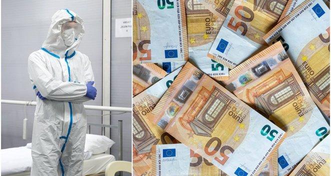 Ministerijos pinigai – projektams iš fantastikos srities: už daugiau nei milijoną kurs jodą nuo koronaviruso?
