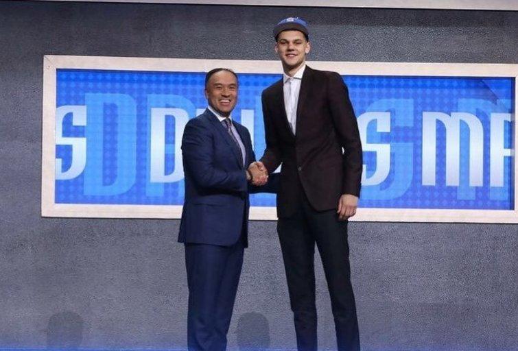 D. Sirvydis NBA naujokų biržoje (nuotr. Instagram)