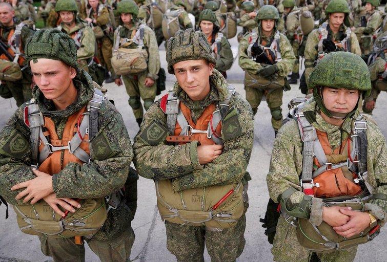 Rusijos karinės pajėgos (nuotr. SCANPIX)