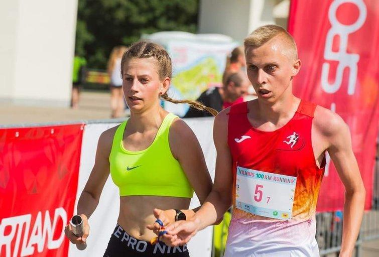 Povilas Krapikas, kaip ir jo brolis dvynys Petras, yra vidutinių ir ilgų nuotolių bėgikas. (nuotr. asm. archyvo)
