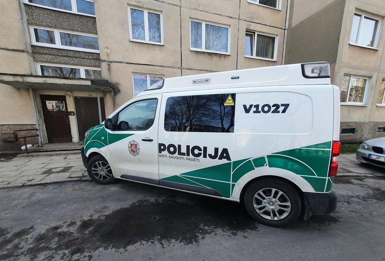 Nužudymas Elektrėnuose (nuotr. Broniaus Jablonsko)