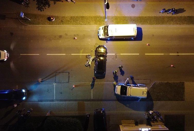 Baltojoje Vokėje žuvo jaunas motociklininkas (nuotr. Broniaus Jablonsko)