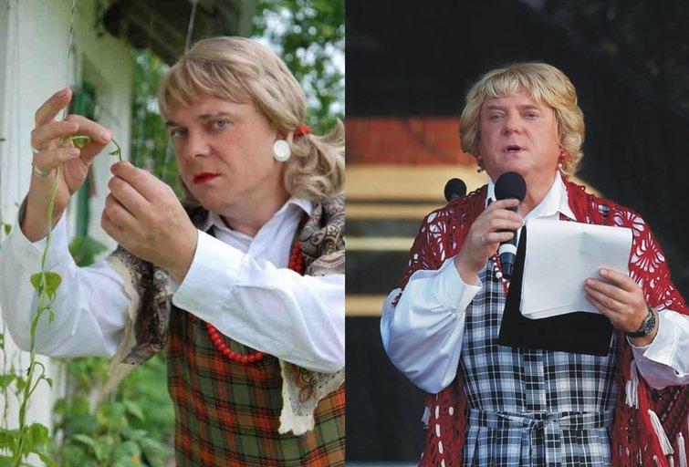 Apolionija Zizirskienė-Vaidas Pračkaila (nuotr. facebook.com)