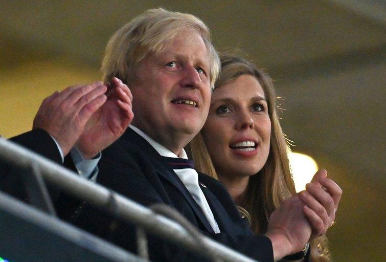 Borisas Johnsonas su žmona Carrie (nuotr. SCANPIX)