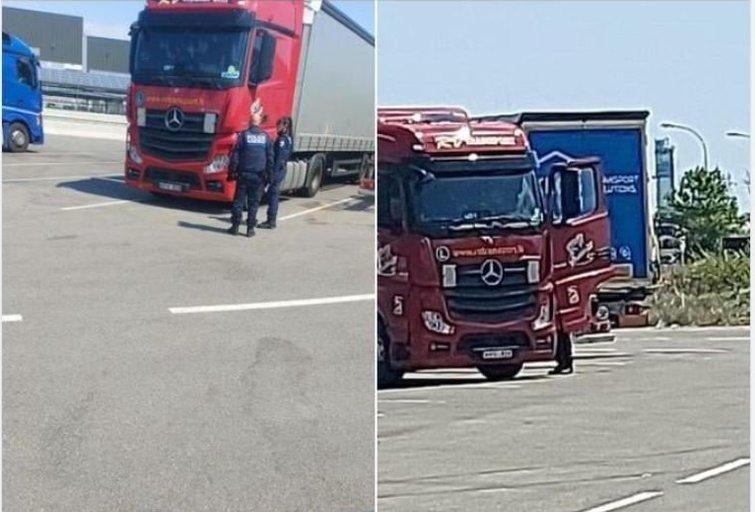 Vežėjų profsąjunga: tolimųjų reisų vairuotojas nusižudė savo vilkike (nuotr. facebook.com)