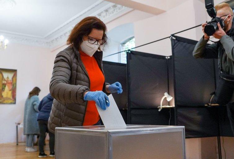 Seimo rinkimai 2020 (Fotodiena/ Viltė Domkutė)