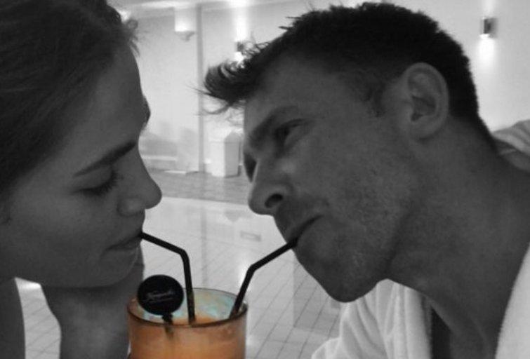 Kotryna ir Egidijus Dragūnas (nuotr. Instagram)