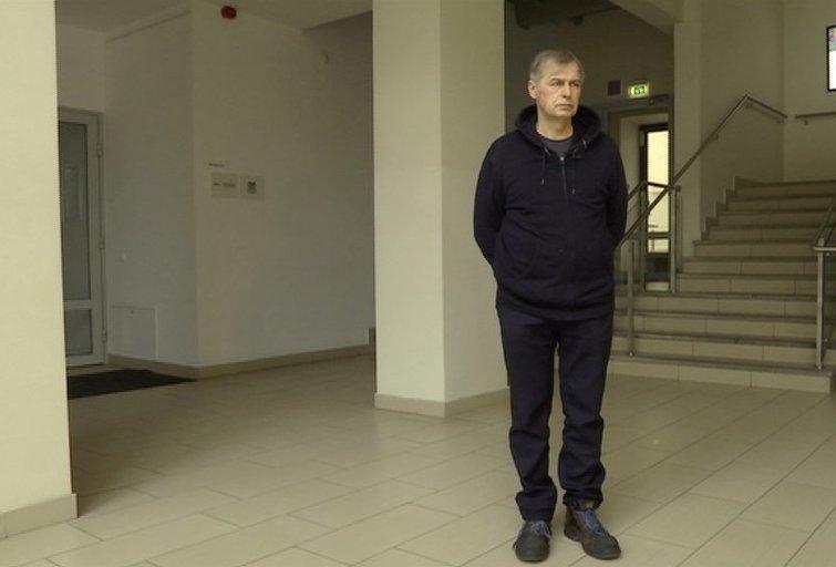 Priekabiavimu apkaltintas G. Trimakas stebino žurnalistus: pasirinko originalią poziciją (nuotr. TV3)