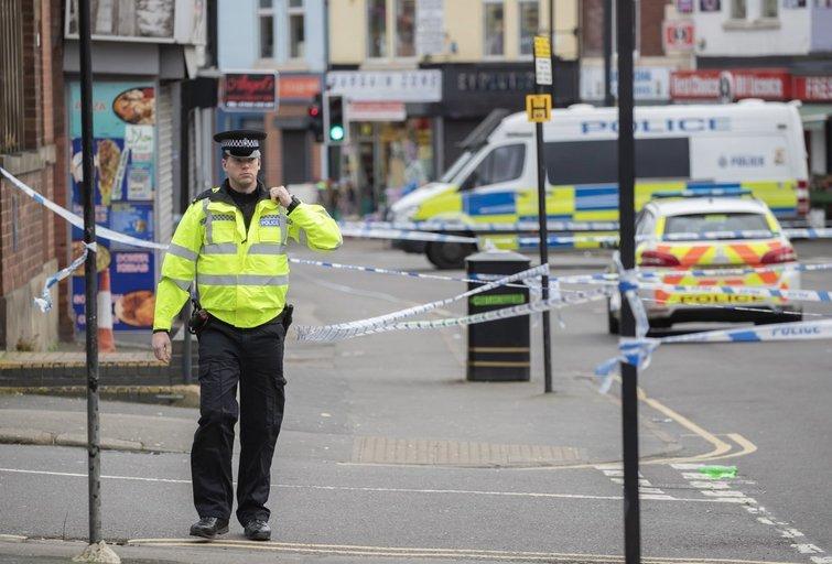 Anglijos policija (nuotr. SCANPIX)