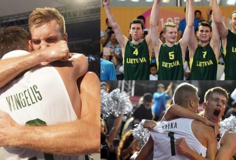Pergalingi momentai. (nuotr. FIBA)