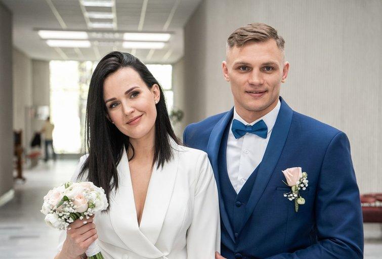 Sergejus Maslobojevas vedė savo mylimąją Fotodiena/Arnas Strumila
