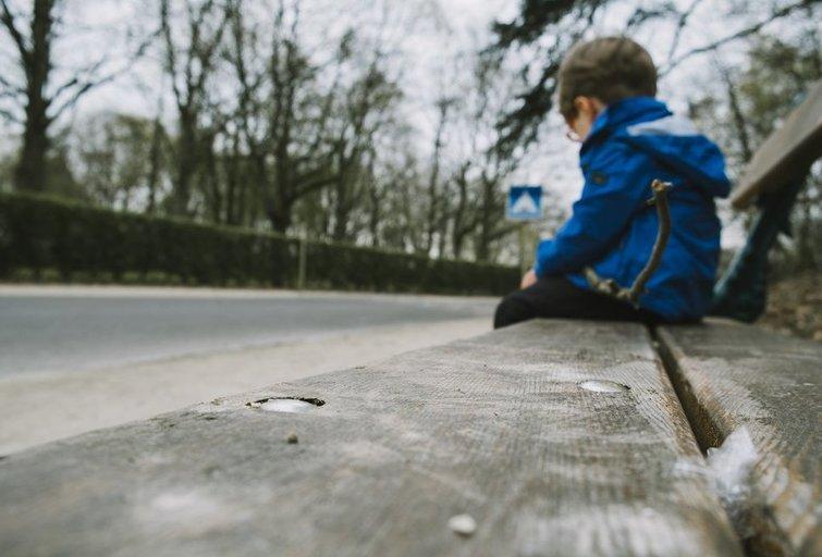 Vaikų depresija (nuotr. Shutterstock.com)