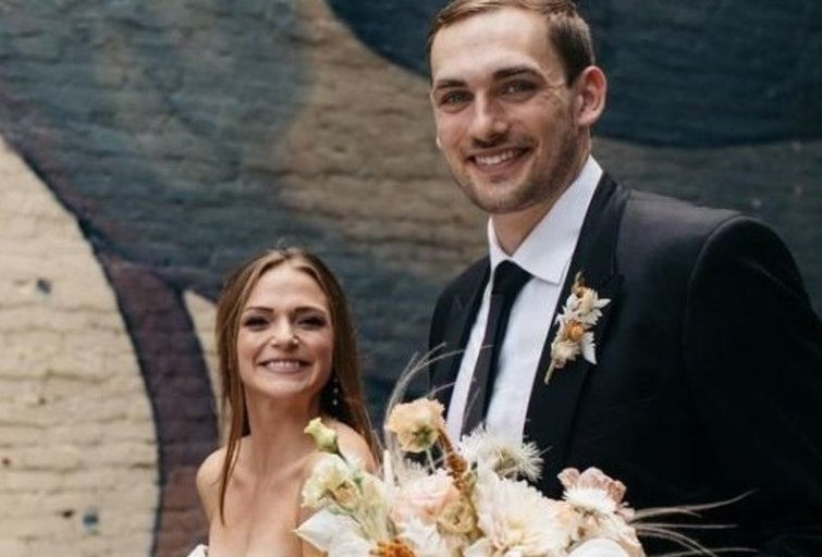 Tyleris Cavanaugh vedė savo išrinktąją Maddy Doyle (nuotr. Instagram)