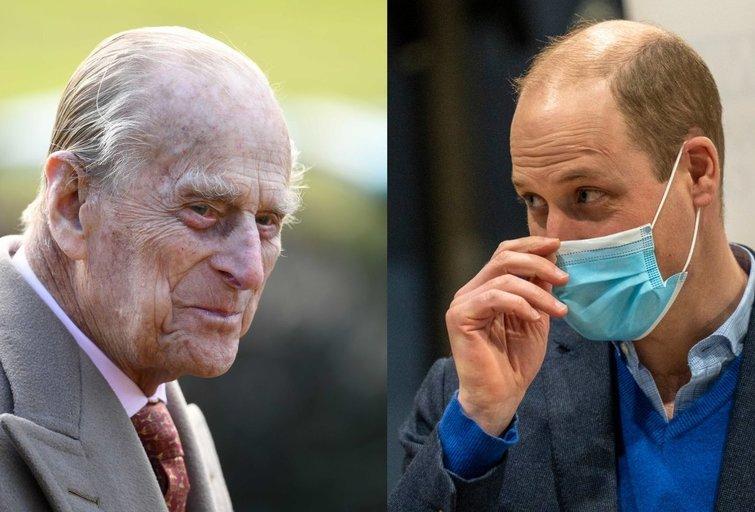 Princas Philipas ir princas Williamas  (nuotr. SCANPIX)