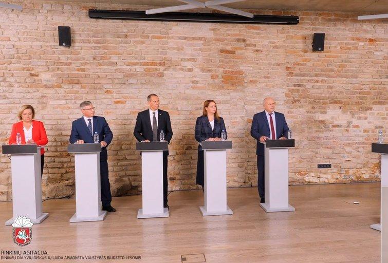 Kandidatų į Kelmės rajono savivaldybės tarybos narius – merus pirmoji diskusijų laida