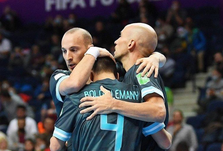 Argentina prasibrovė į ketvirtfinalį. (nuotr. Organizatorių)