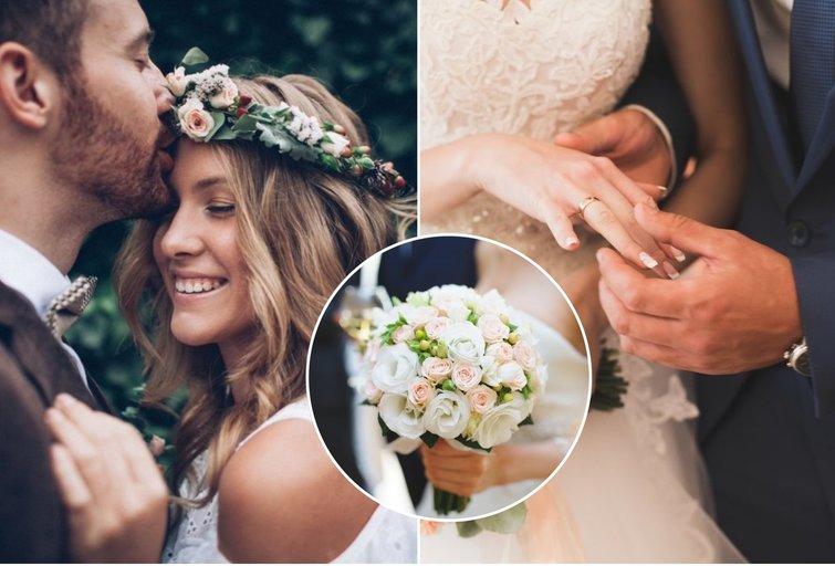 Patarė, kaip išrinkti tinkamą puokštę vestuvėms (tv3.lt fotomontažas)