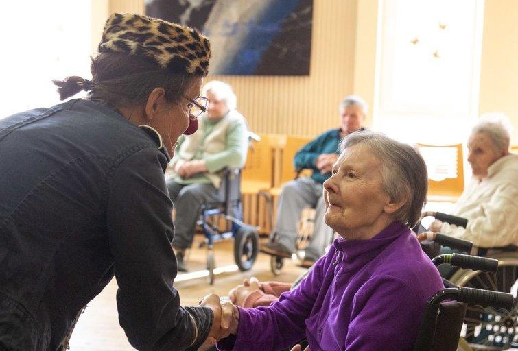 Senjorų socialinės globos namai (nuotr. fotodiena/Justino Auškelio)