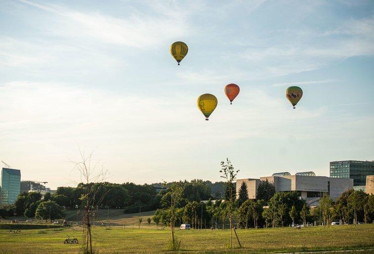 Laisvalaikis sostinėje (nuotr. Fotodiena/Justino Auškelio)