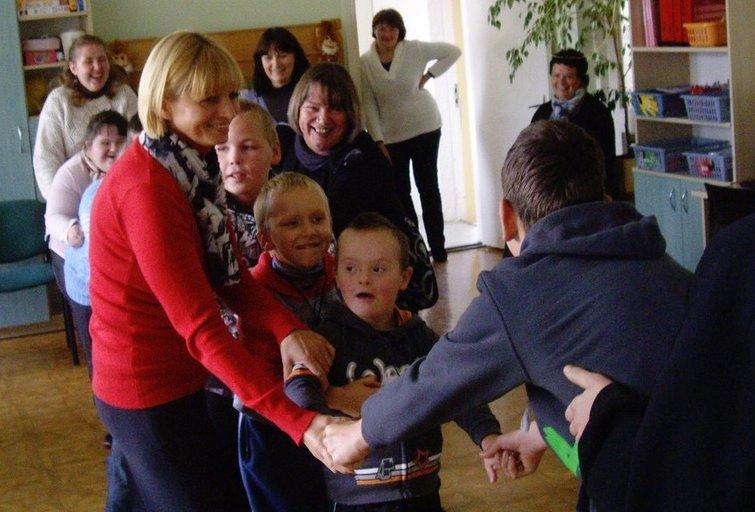 Kijėlių specialiojo ugdymo centro mokosi vaikai iš viso Molėtų rajono. Kijėlių specialiojo ugdymo centro archyvo nuotr.