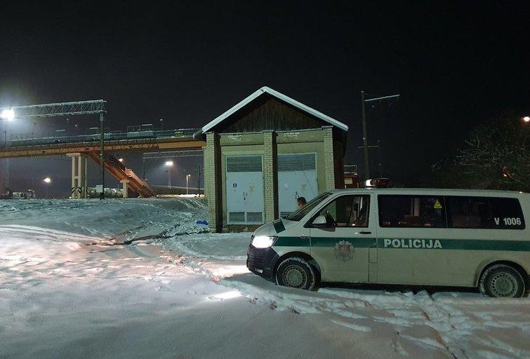 Aukštuosiuose Paneriuose rastas sušalęs benamis (nuotr. tv3.lt)